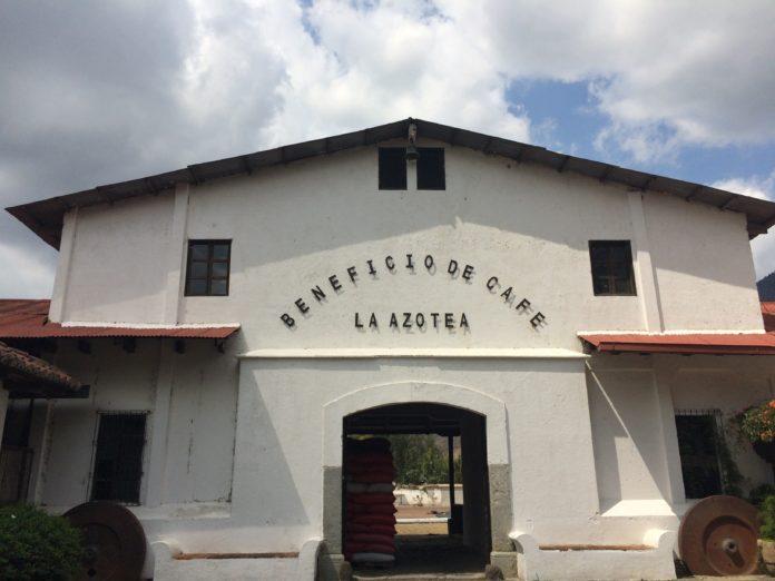 Azotea farm in Antigua